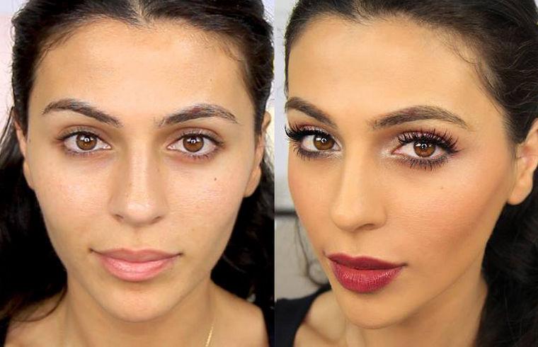Как увеличить губы с помощью макияжа и косметики