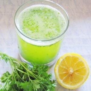 Сок петрушки и лимона