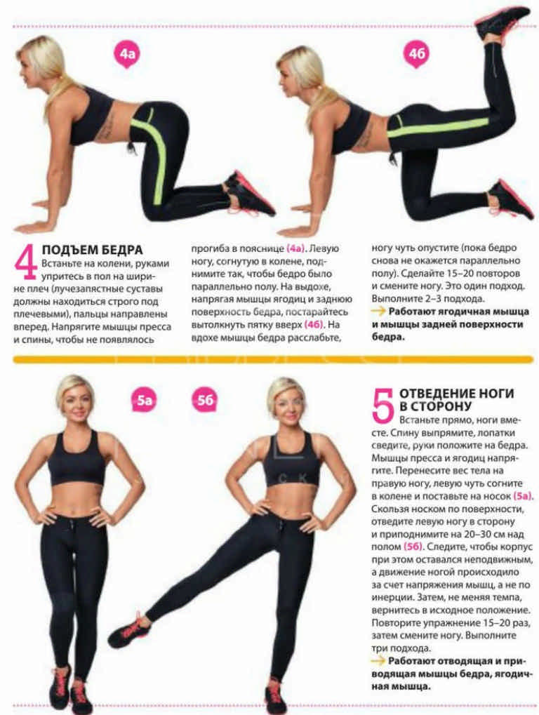 Упражнение для похудения ног для беременных 26