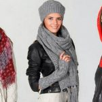 Платки шарфы осень