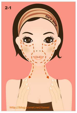 2-1. Упражнение на подъем уголков рта, верхней челюсти, скули и против отвисших щек.