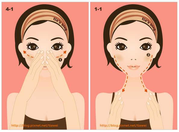4-1. Упражнение, великолепно разглаживающее щеки