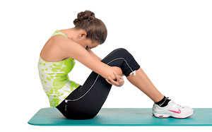 Тянем мышцы спины