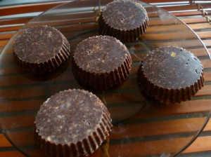 Печенье шоколадно арахисовое