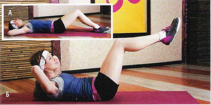 Скручивания упражнения для укрепления спины
