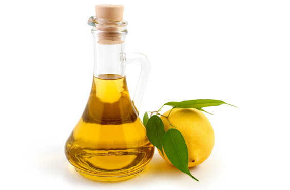 Оливковое масло и лимон не стоит использовать