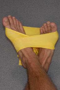 Укрепление голеностопа