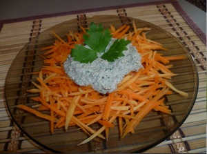Осенние салаты из овощей по рецептам сыроедов