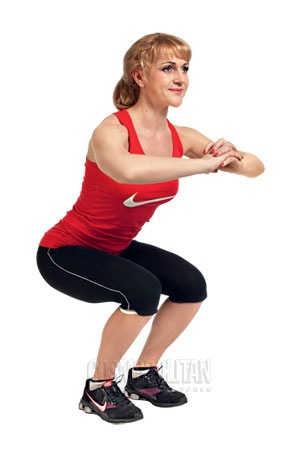 Упражнения для уменьшения объема бедер для женщин