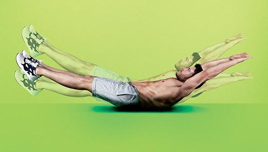 Упражнение на мышцы кора