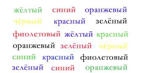 Цвет слова