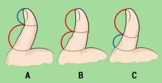 Тест большой палец