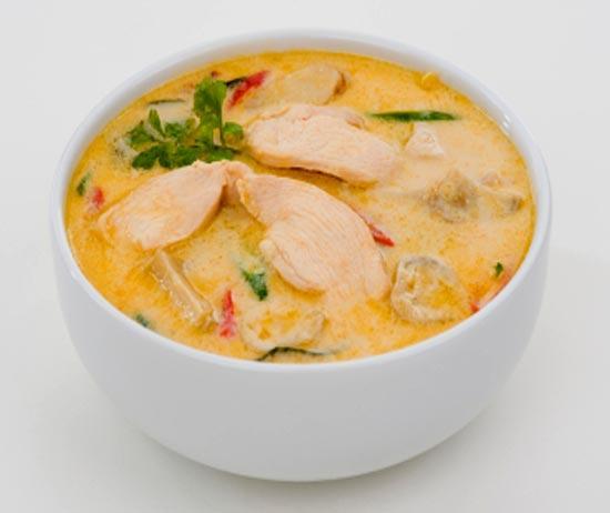 суп с имберем и мясом