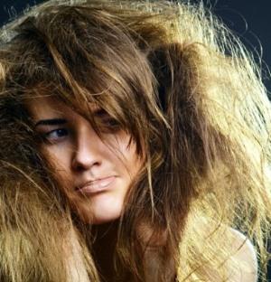 засаливание волос