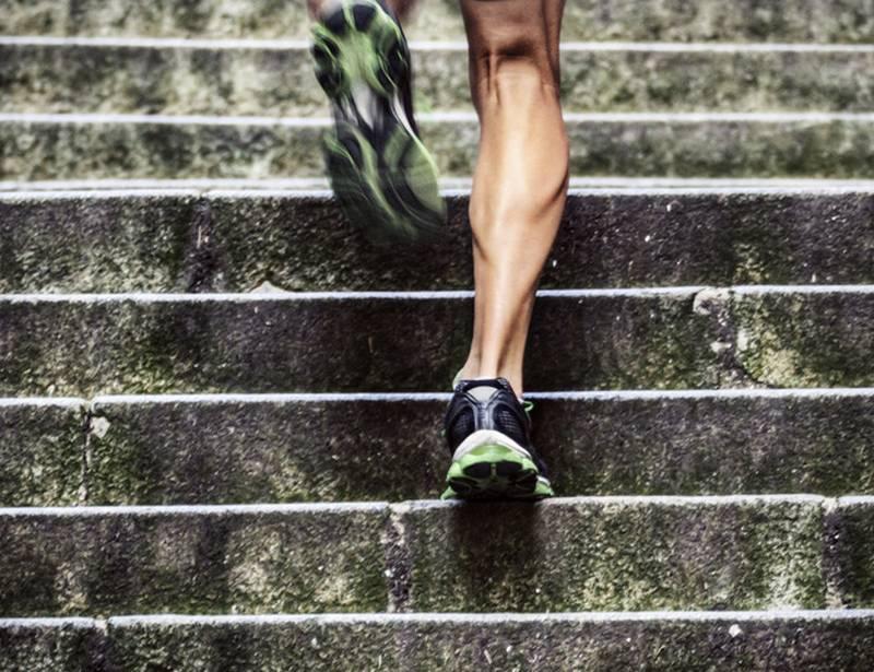 Бегай по лестнице
