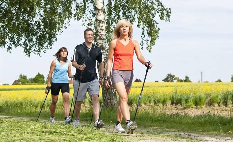 Скандинавская ходьба с палками: техника северной ходьбы