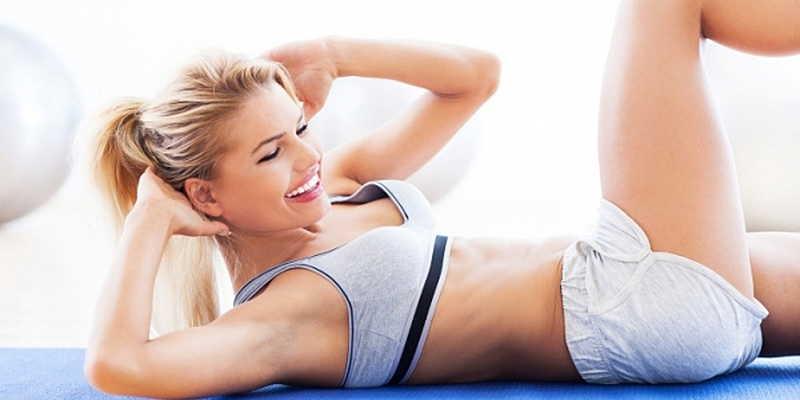 Упражнения для красивого живота на каждый день