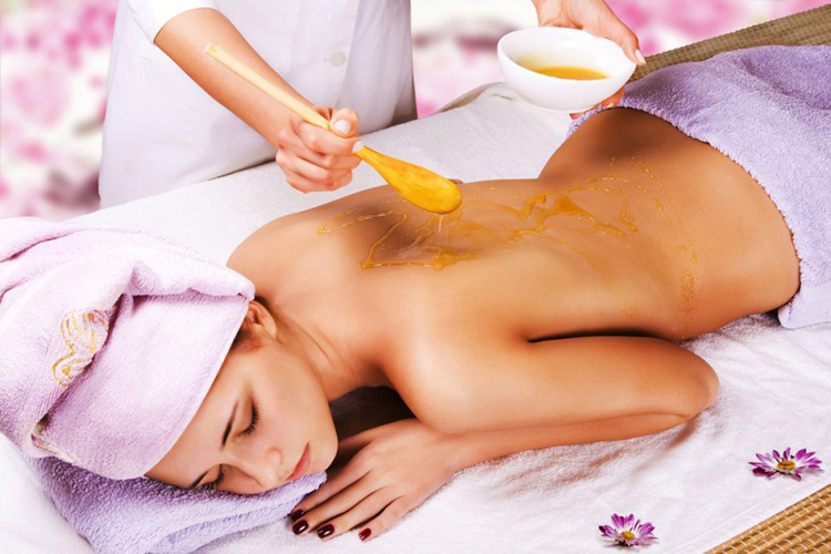 массаж мед 2