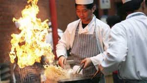 Огонь на китайской кухне
