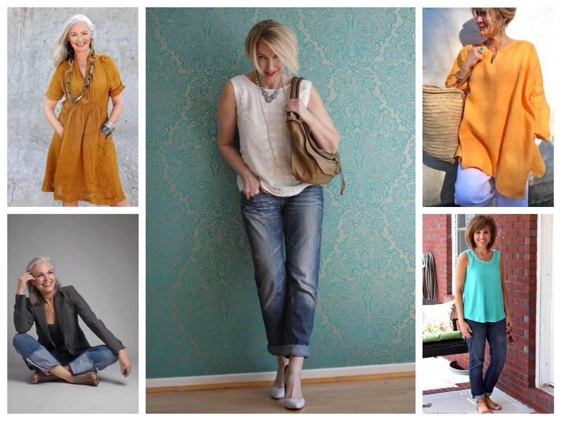 стиль в одежде для женщин после 50