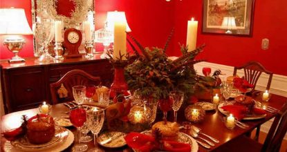 Сервировка новогоднего стола— каким должен быть стол 2017