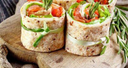 Бутерброды— рулеты— оригинальная и вкусная закуска