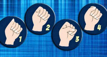 Сжатый кулак— тест на определение характера