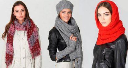 Как красиво завязать шарф, платок или снуд