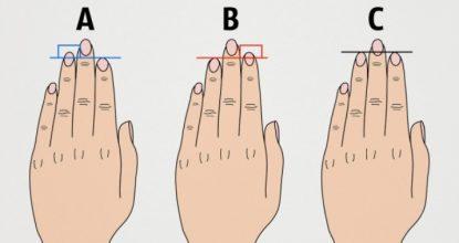Что говорит длина пальцев о нашем характере