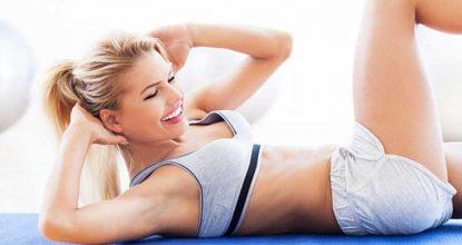Три упражнения для красивого живота
