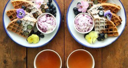 Симметричные завтраки на двоих— что может приятнее