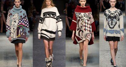Модные свитера на осень— будьте самой стильной женщиной 2016— 2017 года