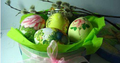 Яйца на пасху— красивая традиция для всех