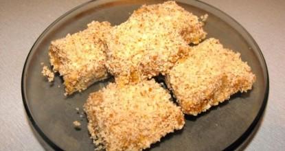 Сыроедное печенье с инжиром