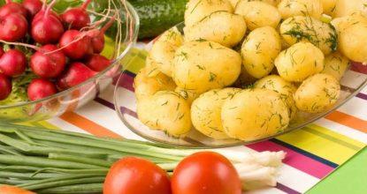 4 рецепта молодой картошки в духовке