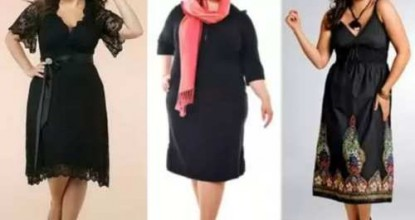 Как правильно выбирать одежду полным женщинам