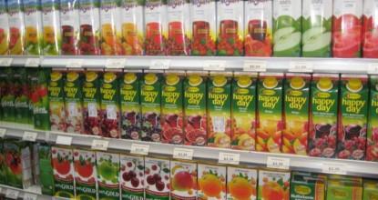 Газированные напитки и пакетированные соки— что выбрать