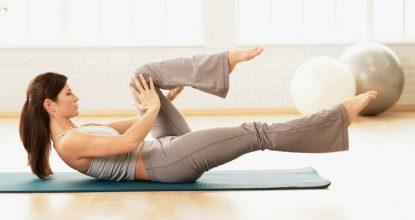 Пилатес в домашних условиях: упражнения на 5 минут