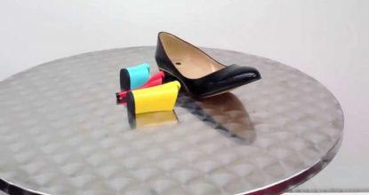 Туфли-трансформеры со сменными каблуками