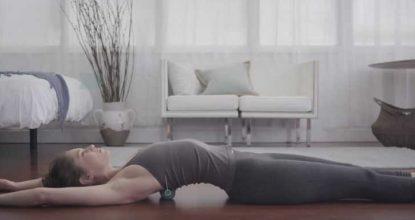 Йога терапия: точечный массаж теннисными мячами