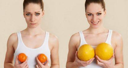 Домашние способы увеличить грудь без операции