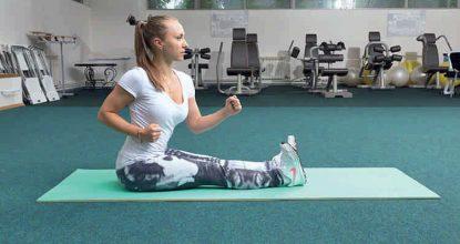 Простое и эффективное упражнение: хождение на ягодицах