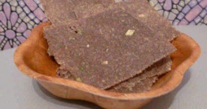 Хлебцы из пророщенной пшеницы, льняного и подсолнечного семени