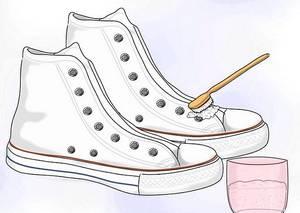 Как почистить белые кроссовки и кеды от грязи, травы и желтизны