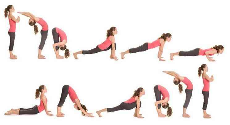 Несколько упражнений йоги для похудения