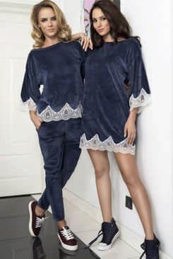 f0a40b1f7d90 Домашняя одежда для женщин - обзор стилей и материалов