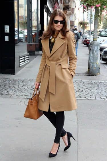 Модное женское пальто весеннего сезона 2017 года