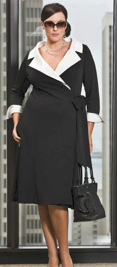 Как одеваться полным женщинам: правила стиля
