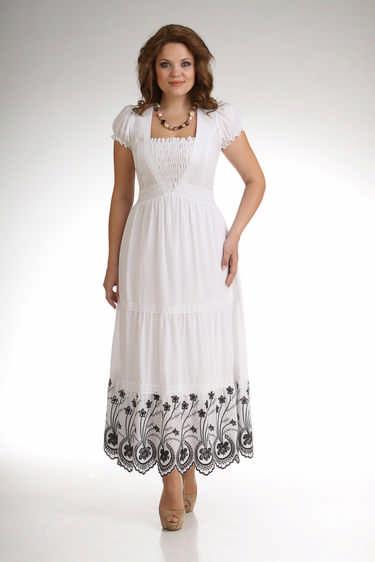 Летние платья для полных женщин: разнообразие стиля