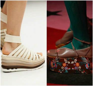 женская обувь на весну